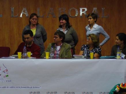Juan Carlos Chandro (el de la chaqueta verde)