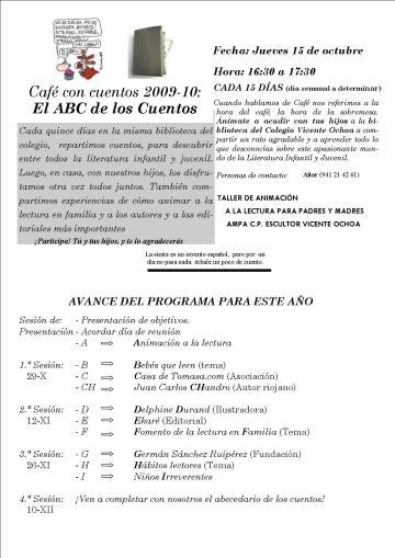 Programa de mano 2009-10