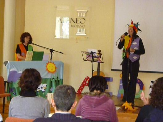Elisa y Helena, dos artistas en escena