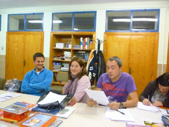 16-11-2011 Benigno Guerra nos deleitó con un monólogo de Kike San Francisco en la sesión que dedicamos a los cuentos de humor.