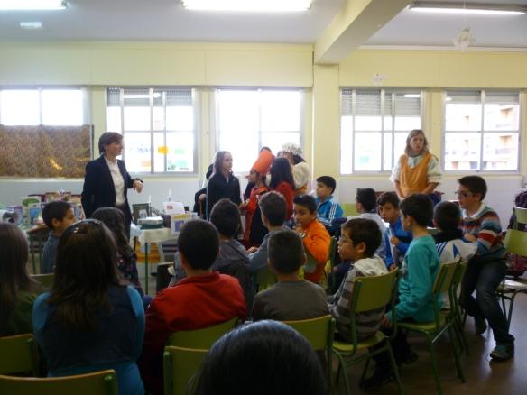 """Grupo de 5º de Primaria del Colegio Público """"San Prudencio"""" de Albelda (La Rioja)"""