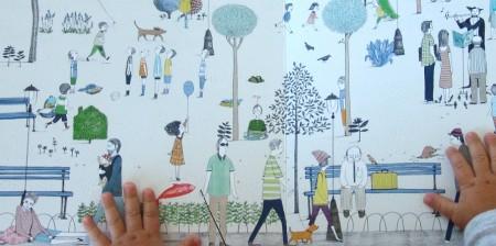 """Ilustración de Alicia Varela para """"El arenque rojo"""" de Gonzalo Moure.SM, 2012"""