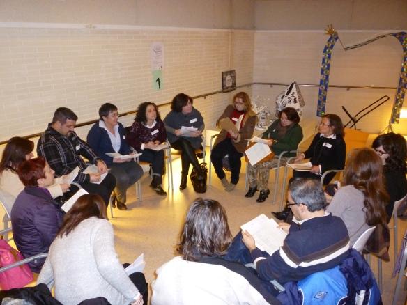 Grupo 1 coordinados por Antonio y Pilar.