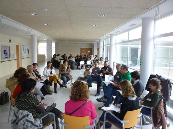 Grupo 3 coordinado pro Mari Paz y