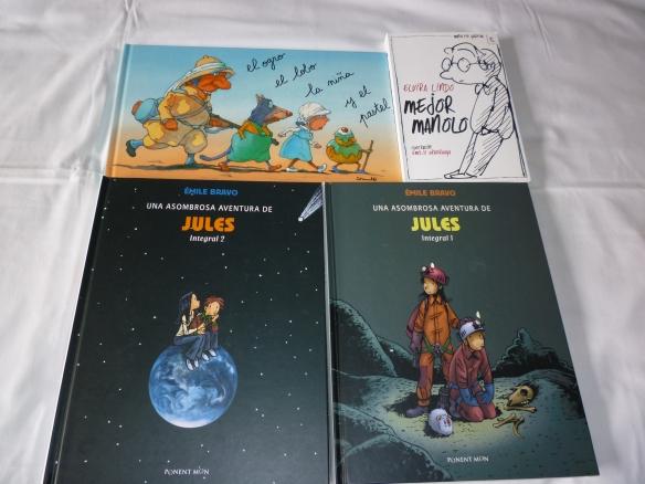 Un cómic, una novelita y un álbum gamberro. ¡Los tres libros del mes de abril!