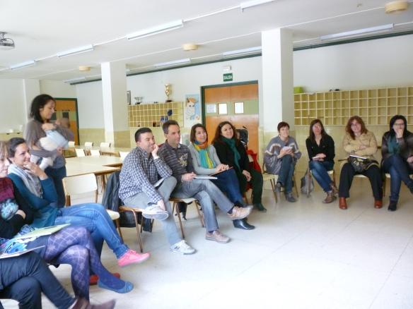 Lunes 22 de abril 2013 Colegio San Pío X de La Estrella (Logroño)