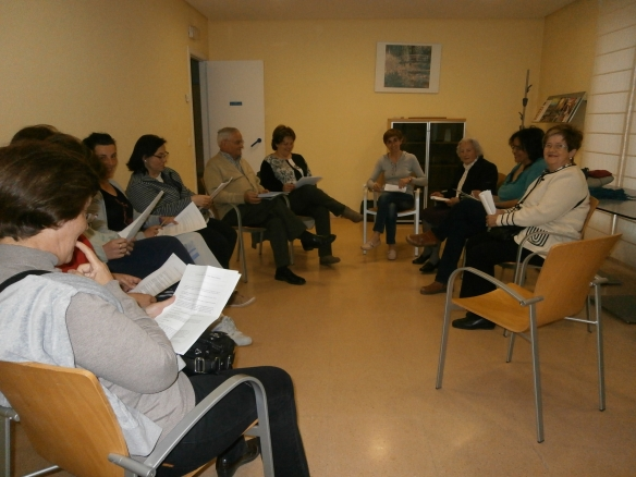 Jueves 18 de abril de 2013 Tertulia dialógica literaria en Ribafrecha (La Rioja)