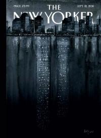 Portada de Ana Juan para la revista New Yorker con motivo de las torres gemelas
