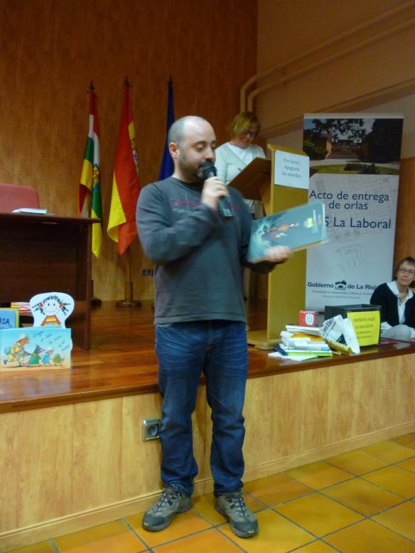 """Rubén gran amante del cómic nos habló de """"Las aventuras de Jules"""""""