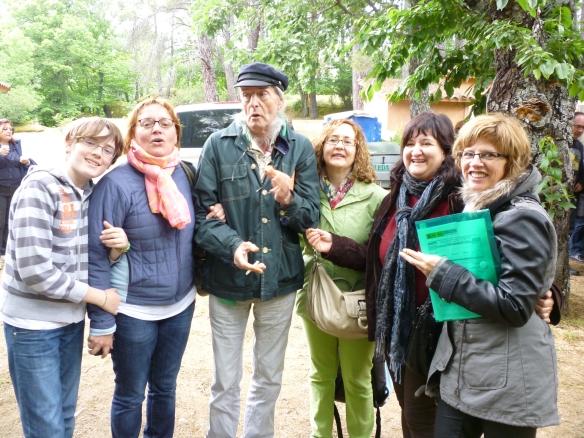 Con Federico Martín Nebras que nos invitó a formar parte de Pizpirigaña