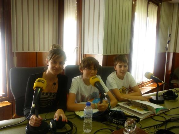 Sarra Orradre (Cadena Ser), Ramón y Antonio. 31-07-2013