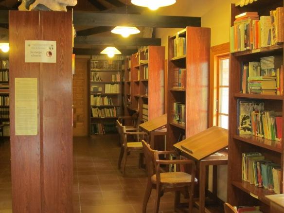 La biblioteca por dentro