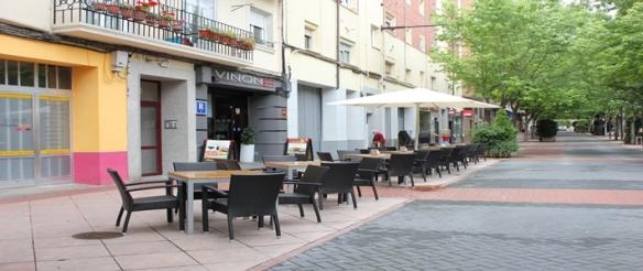 Bar Vinone, en la calle Ciriaco Garrido de Logroño