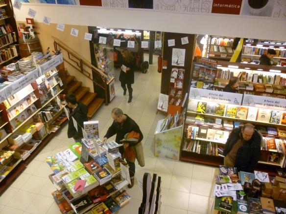 II Feria del Cómic y el Libro Ilustrado. Librería Santos Ochoa. Logroño, La Rioja, Actual 2014.