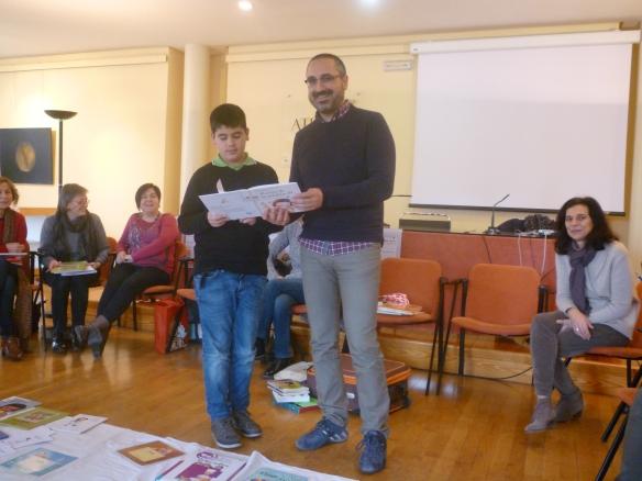 Imanol y Julio Ateneo