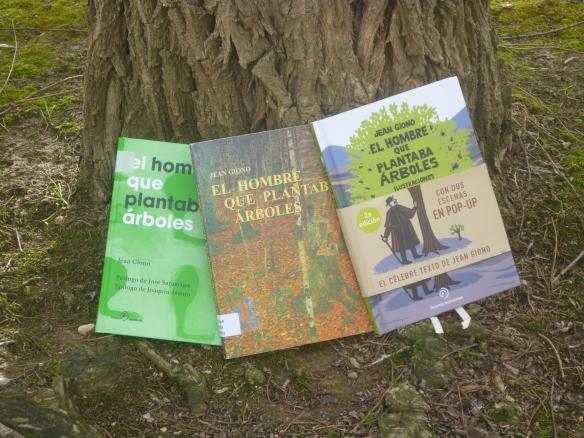 Las diferentes ediciones del libro que hemos manejado.