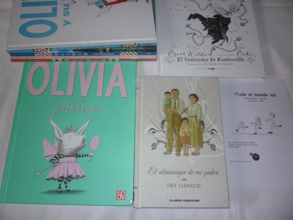 Estos son los tres libros de los que hablaremos en nuestra sesión del club de lectura del sábado 10 de mayo. A las 11 en punto.