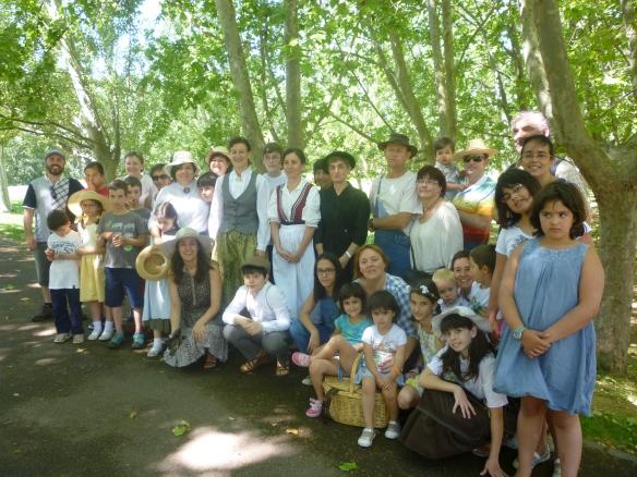I Fiesta del Tupperware. Logroño, a la orilla del Ebro. Junio 2014