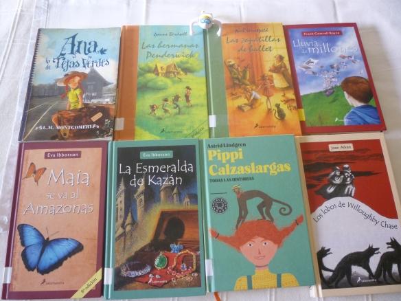 Libros para llevar a la piscina.