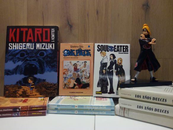 Monográfico sobre manga el 7 de febrero de 2015. Ateneo. Logorño.