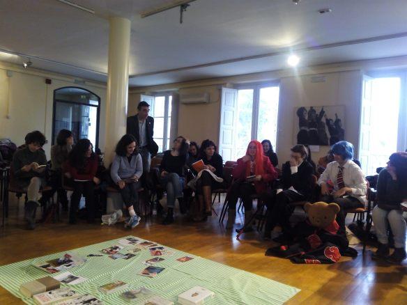 38 personas nos juntamos la mañana del 7 de febrero de 2015