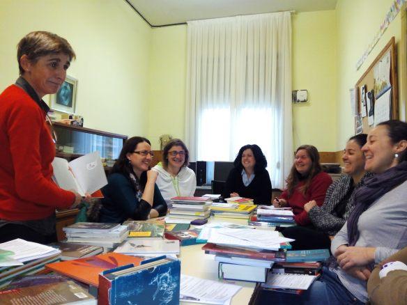 Nuestro último taller. Colegio Aurelio Prudencio de Nájera (La Rioja) Esta mañana 21-03-2015