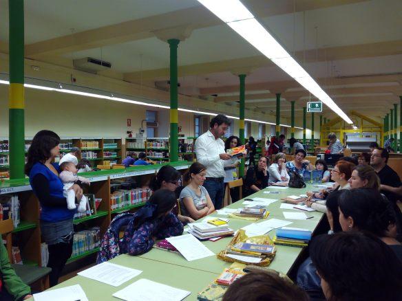 Biblioteca de La Rioja. Logroño, 20 de abril de 2015. 19.00 horas Taller de padres y madres.