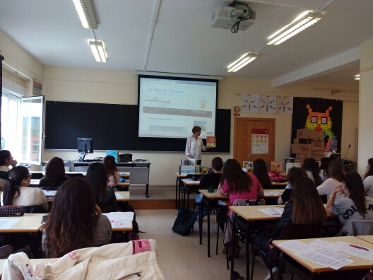 Aula de Infantil de la Universidad de La Rioja. Logroño, 04-05-2015