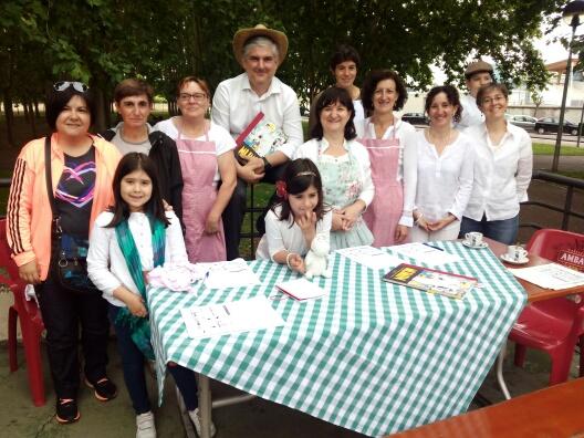 A la orilla del Ebro, en el Bar Julio. Tertulia con Los Mumin en La Riviera. Logroño, 13 de junio de 2015.