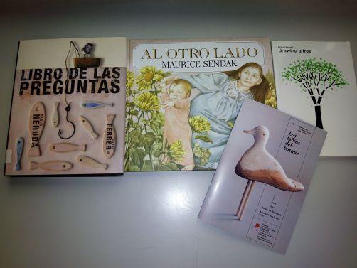 Libros que se mencionaron en el Encuentro.