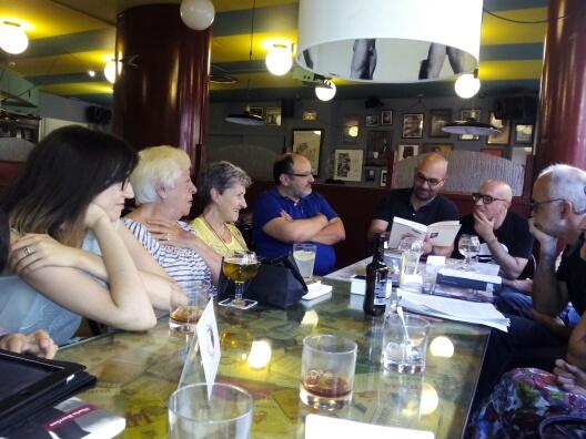 Sesión del 5 de agosto de 2015 en el Café Bretón de Logroño