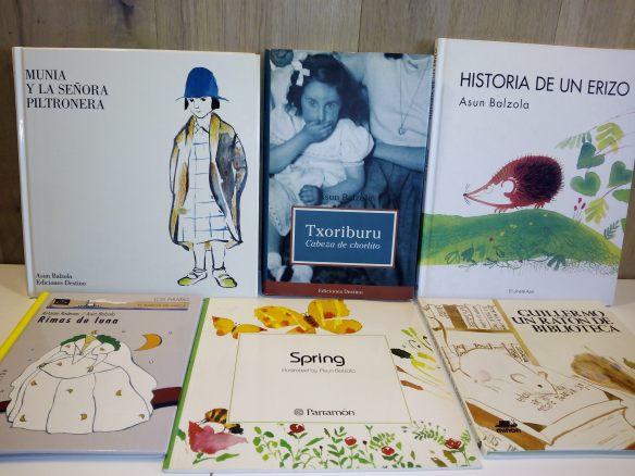En Txoriburu está la auténtica Asun Balzola. Su niñez en el Bilbao en los años cincuenta. Ella lo miraba todo con asombro.