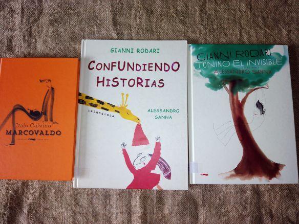 Libros ilustrados por Alessandro Sanna en castellano.