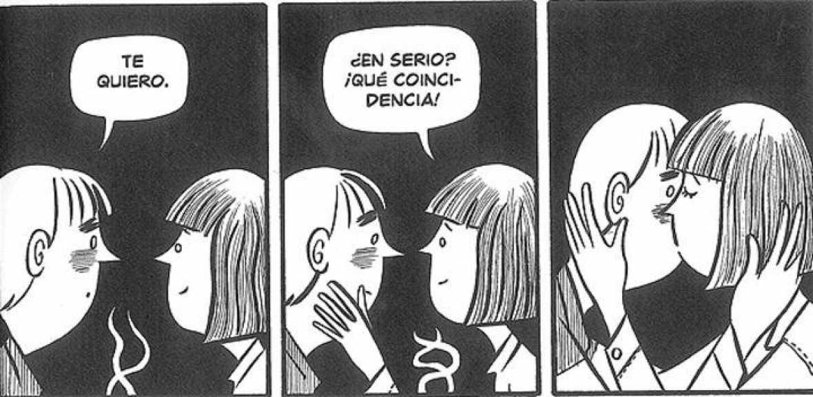Paul (Rabagliati) cuando le pide a Lucie que sea su novia ¡Qué romantico!