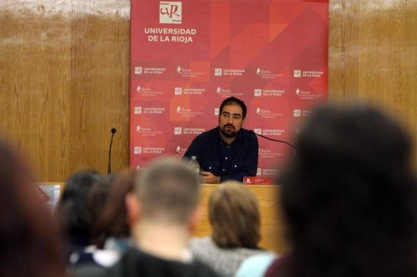 """Gustavo Puerta Leisse. """"Maurice Sendak: una relación ambivalente con la infancia"""" Logroño, 19-02-2016"""
