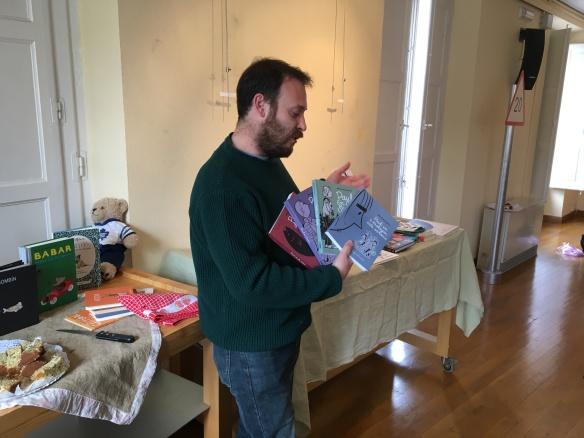 Alberto García, editor de Fulgencio Pimentel nos habló de Paul de Michel Rabagliati.