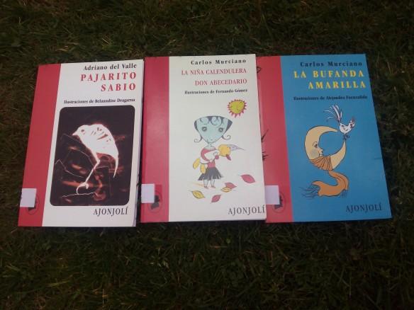 Libros del poeta gaditano Carlos Murciano en la colección Ajonjolí.