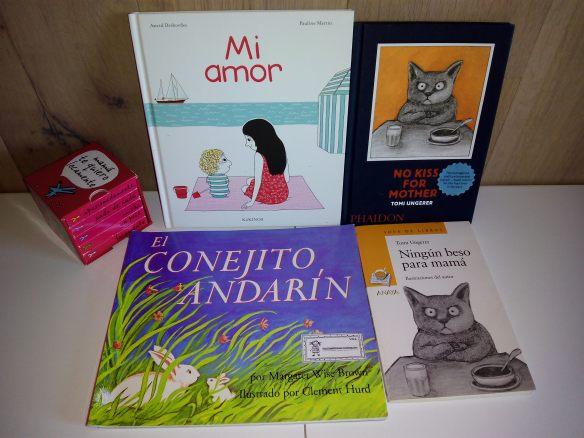 Libros que recomendamos para el día de la madre. Os esperamos en la librería Cerezo el viernes a las 18.30.