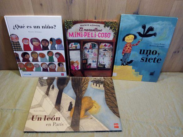 Álbumes de Beatrice Alemagna.