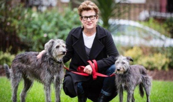Meg Rosoff (Inglesa-americana, 1956) ganadora del premio Astrid Lindgren. ¡Y le gustan los perros como a Tomasa!