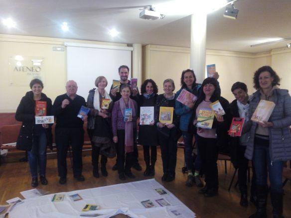 Club de lectura. Sábado, 5 de noviembre de 2016. Ateneo, Logroño.
