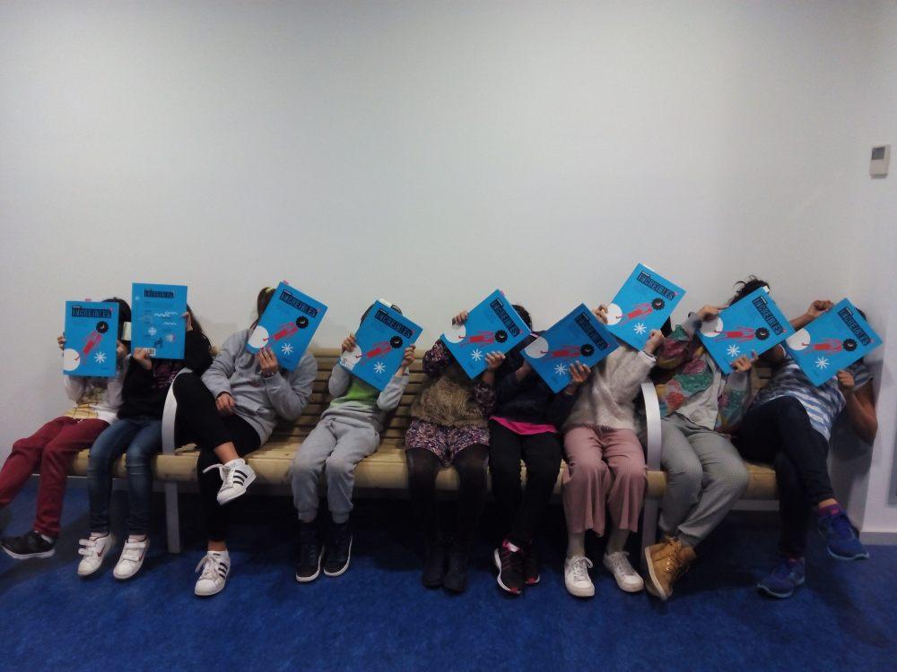Club de lectura en la Biblioteca Rafael Azcona de Logroño. 21-11-2017