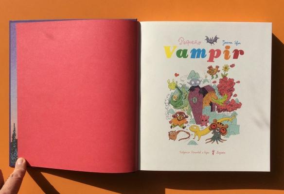 Recopilatorio con las aventuras del pequeño Vampir recién editado por Fulgencio Pimentel.