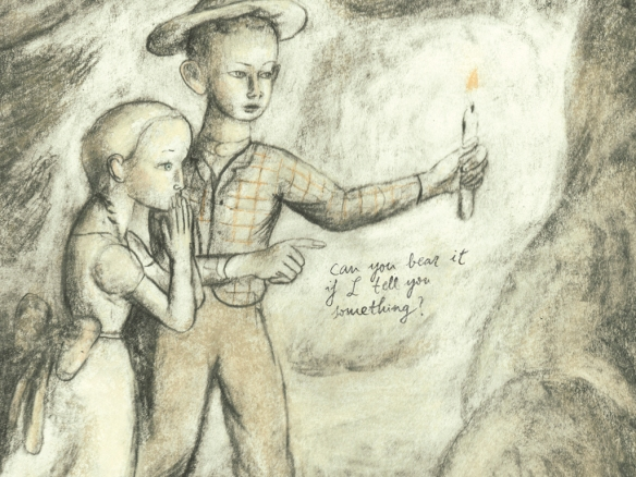 Ilustración de Pablo Auladell para Las aventuras de Tom Sawyer. Sexto Piso, 2015