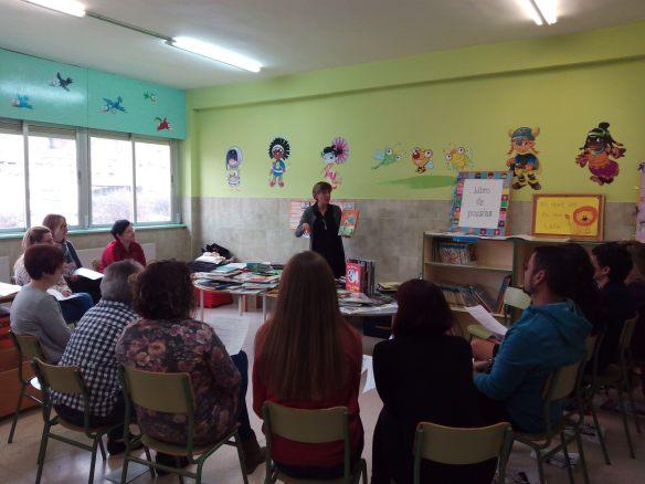 CEIP de Quel (La Rioja). Sábado, 11 de febrero de 2017.